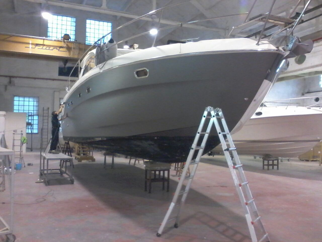 Fiart 45 boat wrapping vista 1