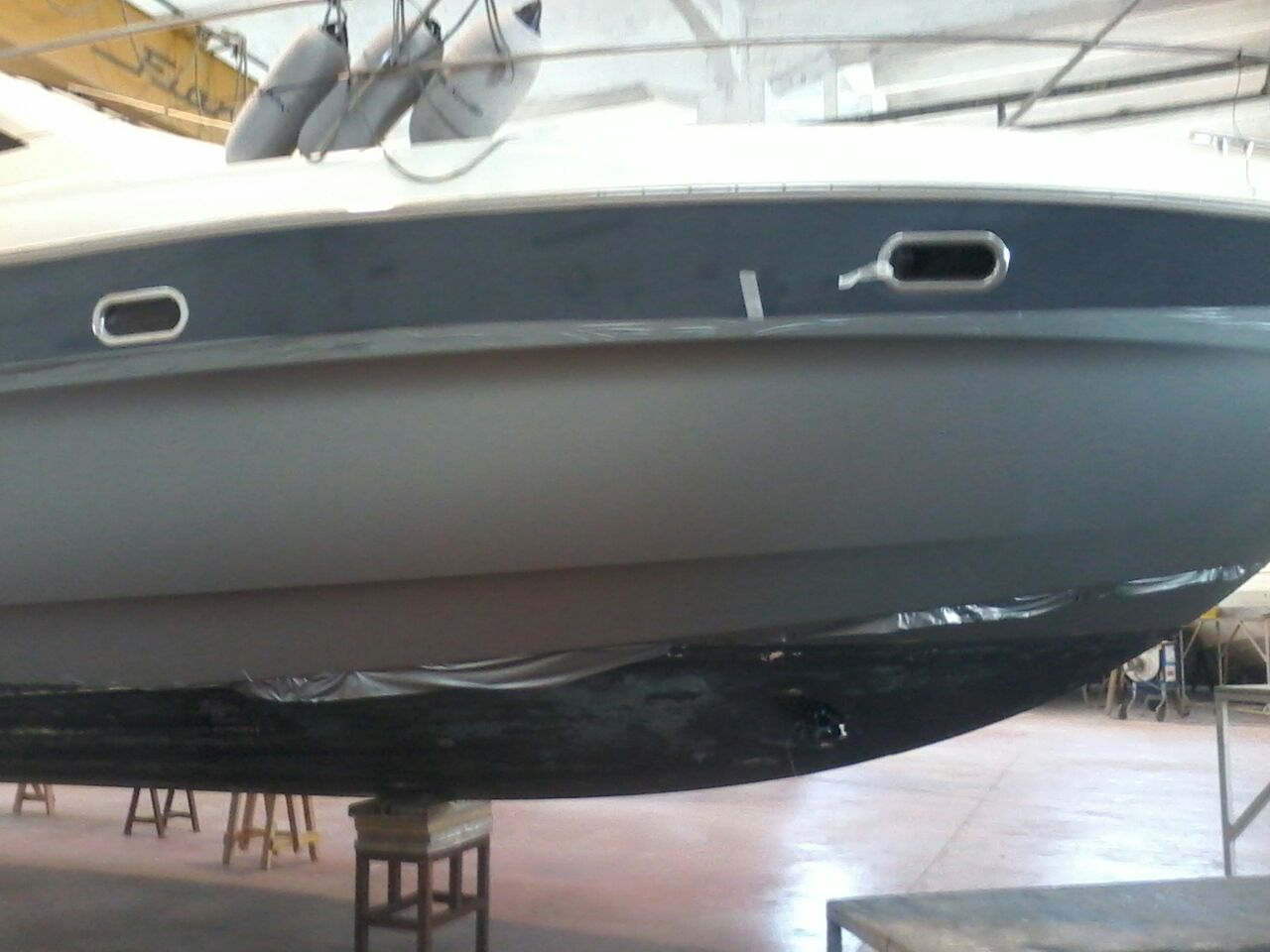 Fiart 45 boat wrapping vista 10