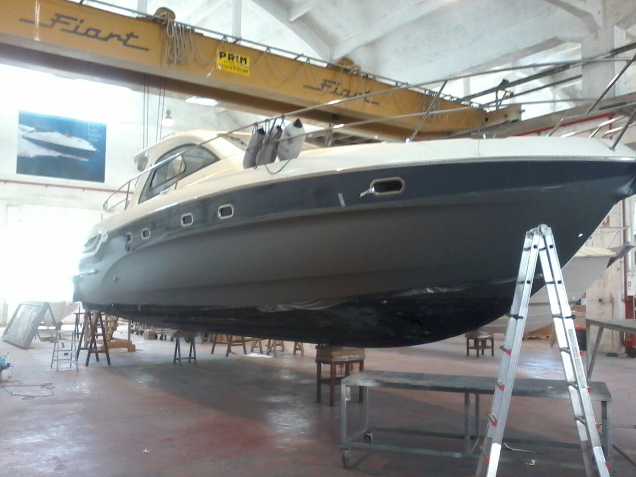 Fiart 45 boat wrapping vista 6