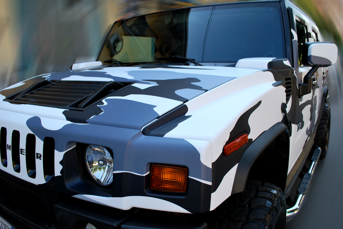 wrapping hummer camo nero 12
