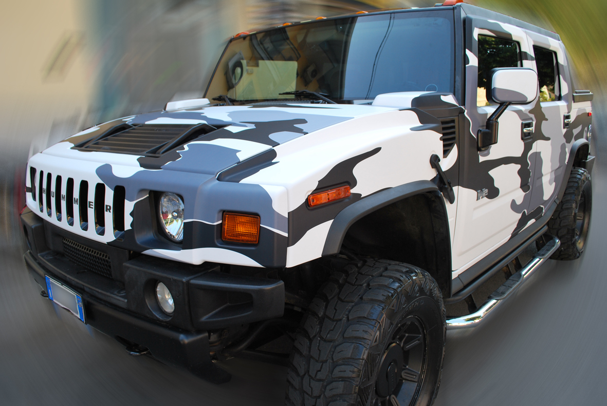 wrapping hummer camo nero 15