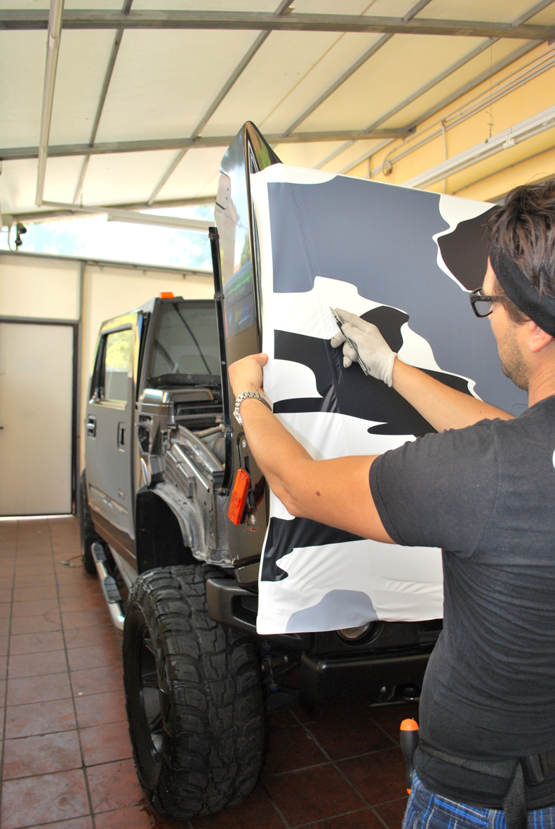 wrapping hummer camo nero 2
