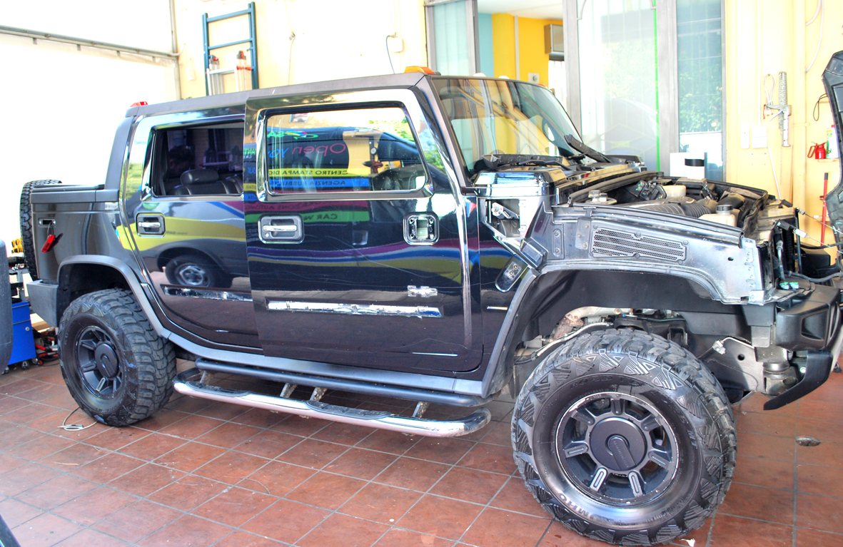 wrapping hummer camo nero 3