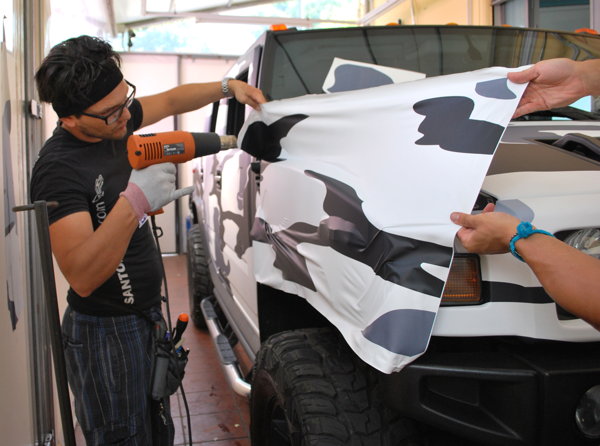 wrapping hummer camo nero 6
