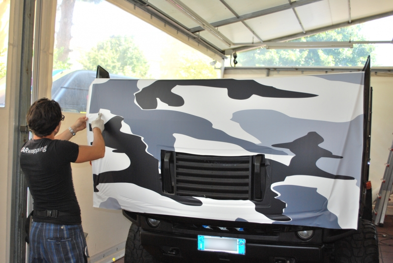 wrapping hummer camouflage vista 1