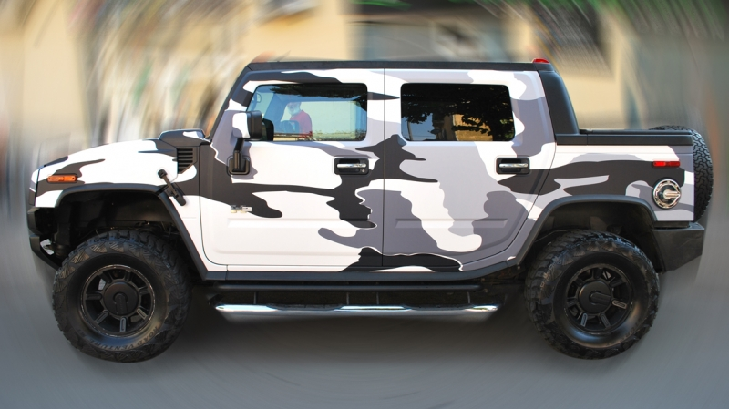 wrapping hummer camouflage vista 11