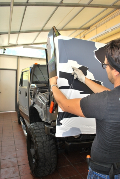 wrapping hummer camouflage vista 2