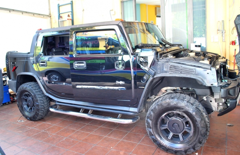 wrapping hummer camouflage vista 3