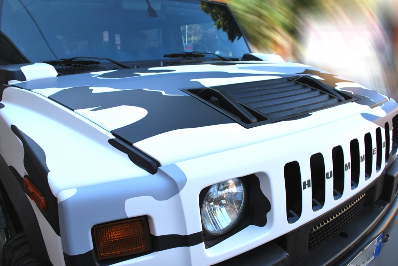 wrapping hummer camouflage vista 4