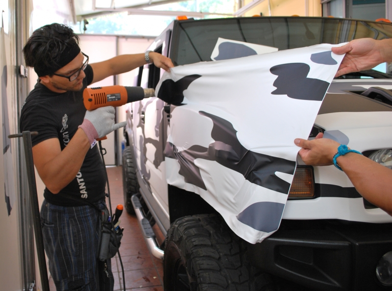 wrapping hummer camouflage vista 5