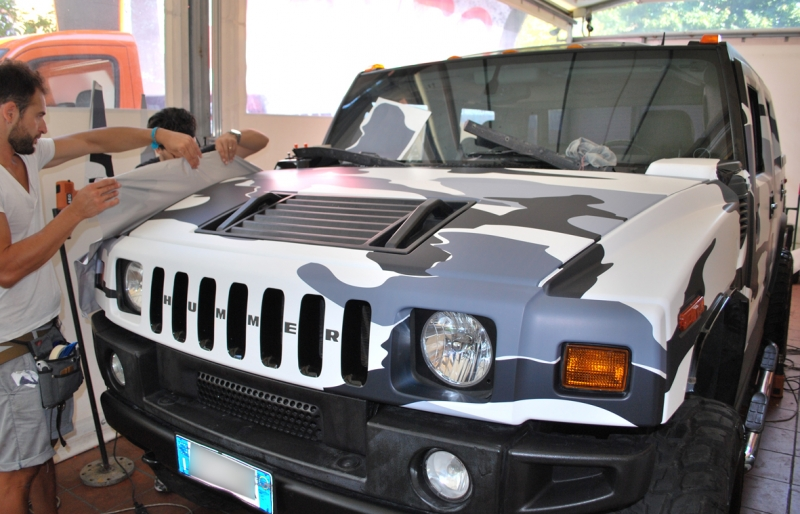 wrapping hummer camouflage vista 8