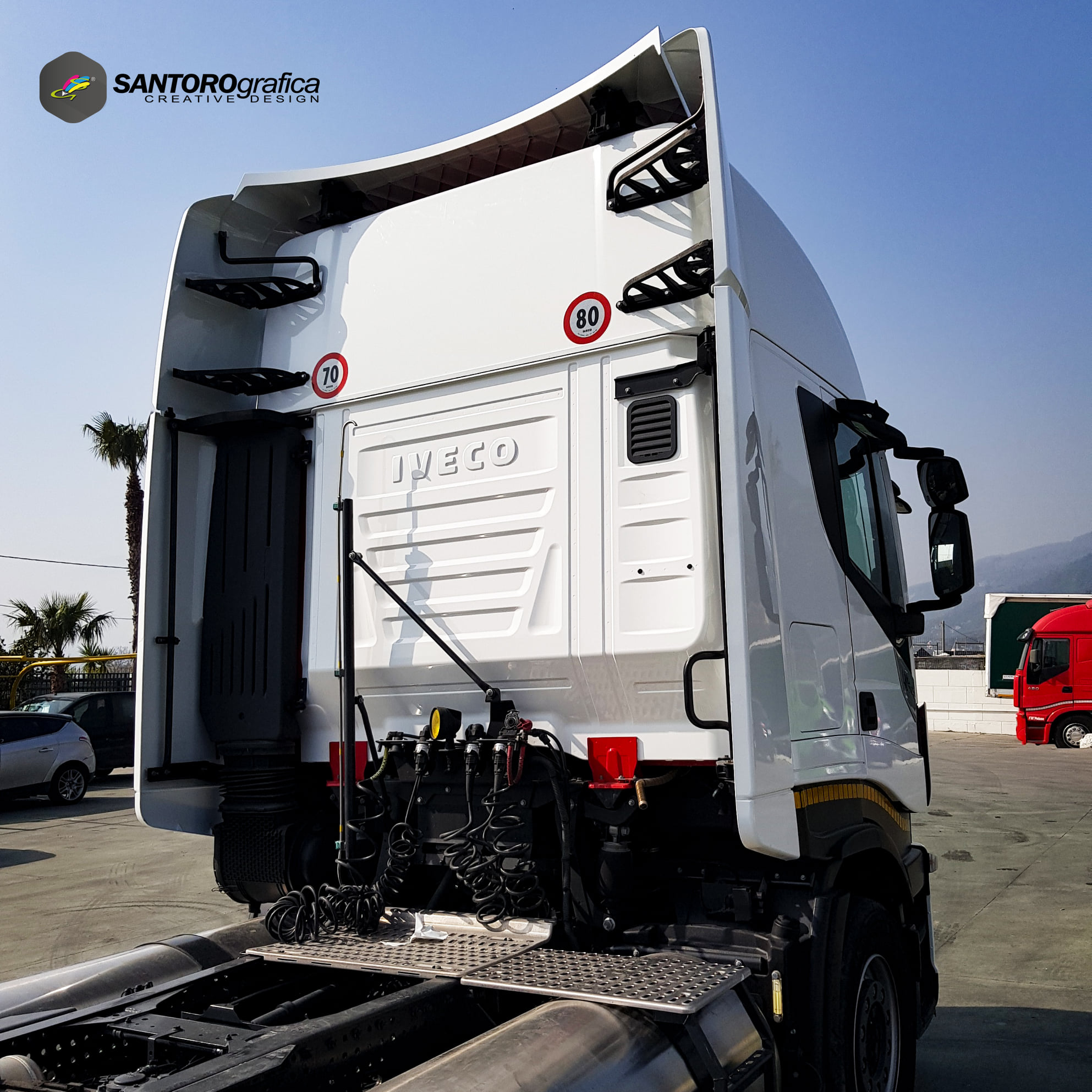 wrapping camion iveco np 400 stralis 3