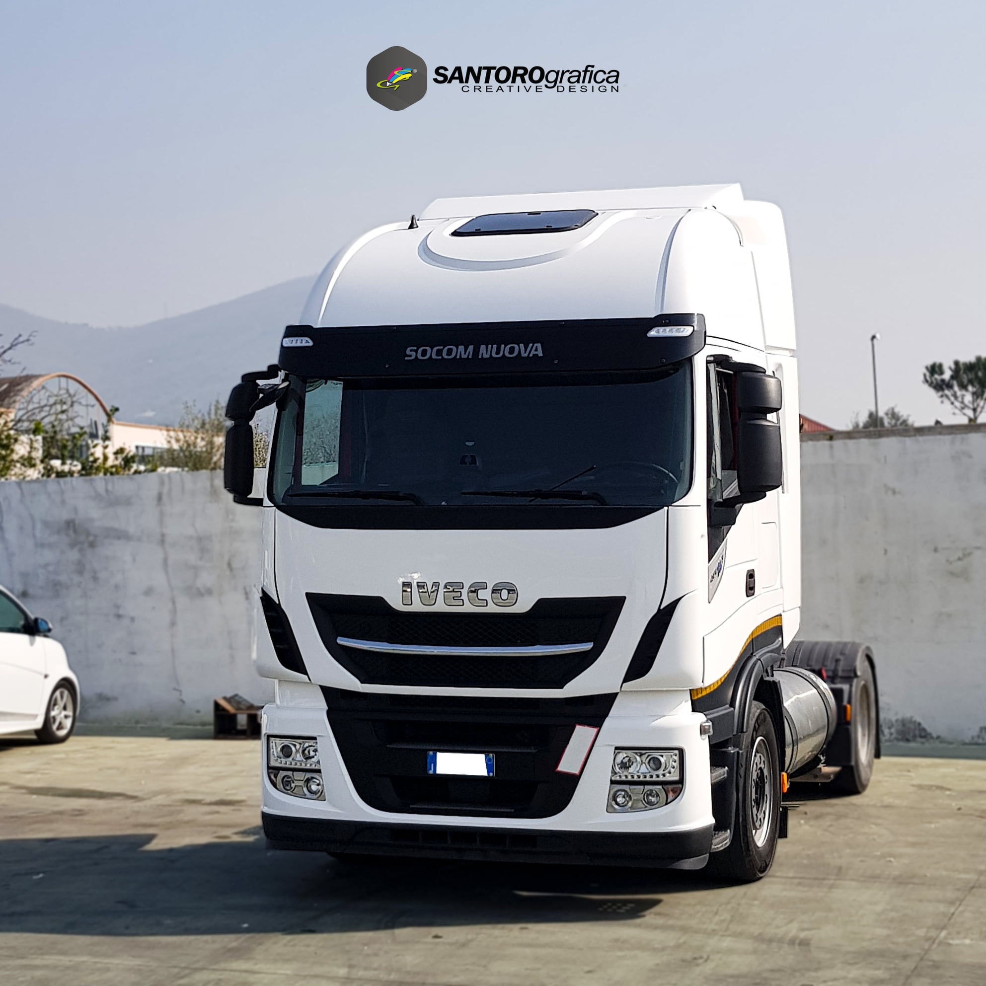 wrapping camion iveco np 400 stralis 4