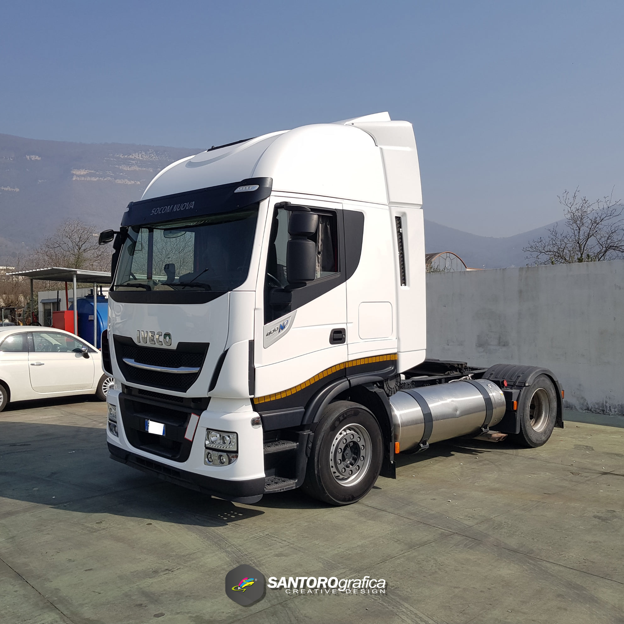 wrapping camion iveco np 400 stralis 6