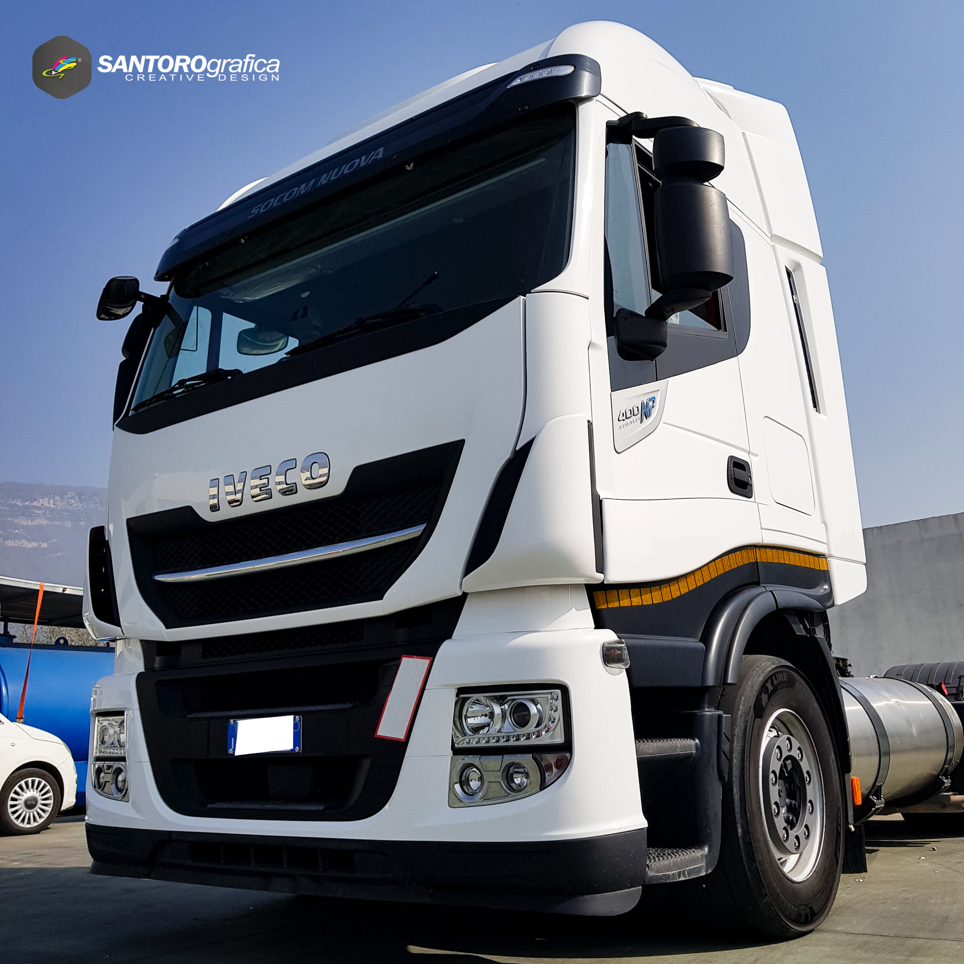 wrapping camion iveco np 400 stralis 8