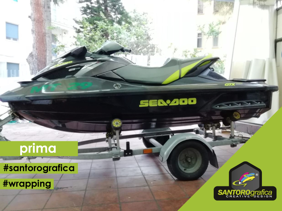 wrapping acquascooter  prima 2