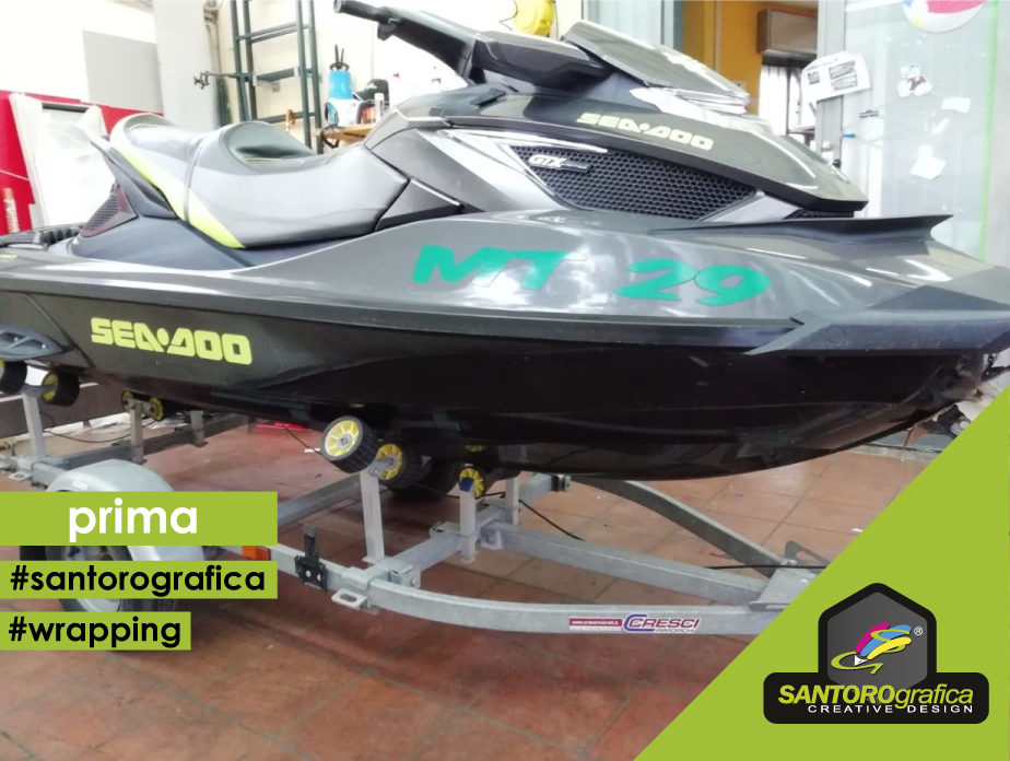 wrapping acquascooter prima