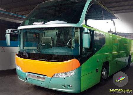 wrapping bus 8