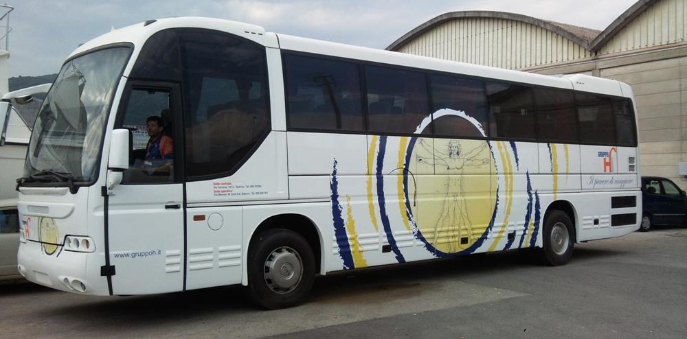 wrapping bus gruppo h
