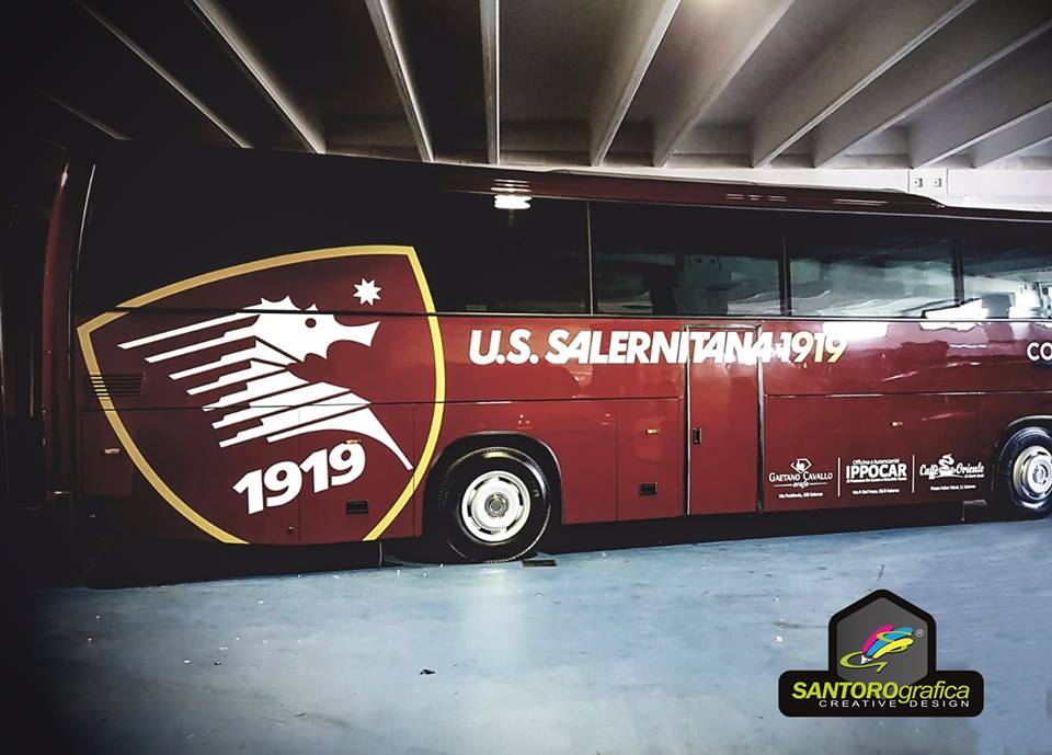 wrapping bus salernitana 1