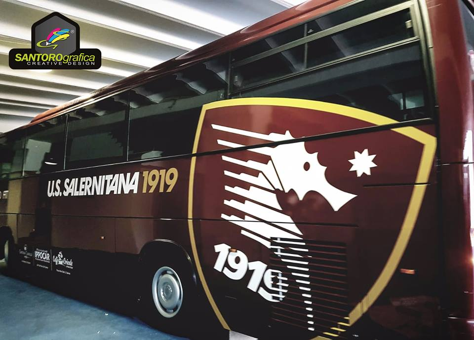 wrapping bus salernitana 2