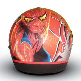 wrapping casco spiderman